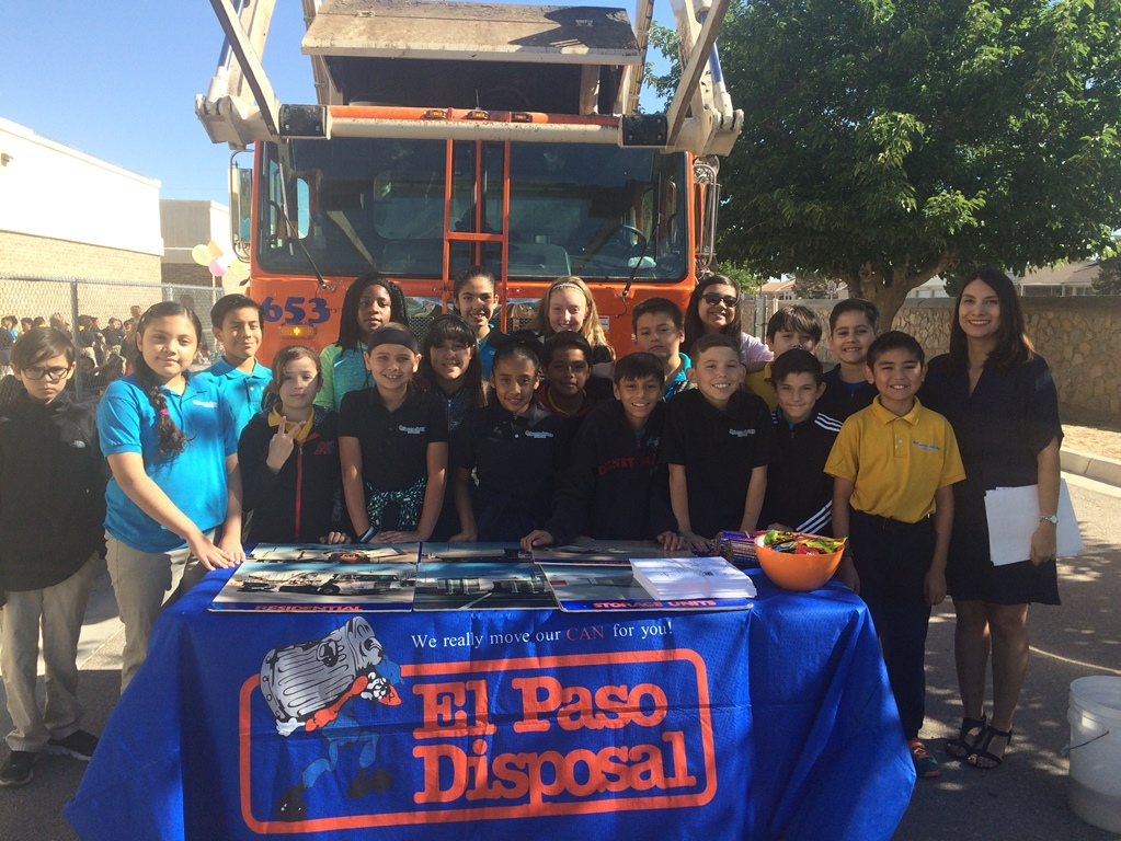 El Paso Disposal Career Day at Local Schools