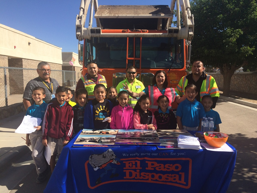 El Paso Disposal at Career Day